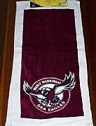 MANLY-SEA-EAGLES-HAND-TOWEL-SET-OF-2-NEW-CA-AUSTRALIA