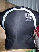 NRL-WARRIORS-JERSEY-CUSHION-BLACK-NEW-FOOTY-SPECIAL