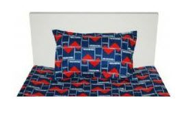 AFL-MELBOURNE-DEMONS-SINGLE-SHEET-SET-FITTED-FLAT-NEW