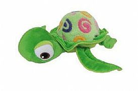 1-X-SOFT-TOY-TURTLE-LIME-GREEN-CA-AUSTRALIA-23-CM-NEW