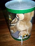 STORMS OFFICIAL NRL PREMIERSHIP BEAR 2007 WITHOUT JACKET PLAIN NUMBERED CRAFT BEAR