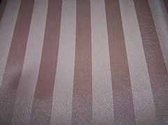 JACQUARD STRIPED SHOWER CURTAIN PALE PINK INCLUDES 12 HOOKS NEW 180 cm X 180 cm COMMERCIAL GRADE