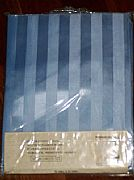 JACQUARD-STRIPED-SHOWER-CURTAIN-BABY-BLUE-INCLUDES-12-HOOKS-NEW-180-CM-X-180-CM-COMMERCIAL-GRADE