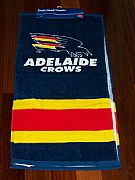 ADELAIDE-CROWS-AFL-HAND-TOWEL-SET-OF-2-NEW-AUSTRALIA