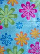 AQUA-BRIGHT-COLOUR-DAISY-BATH-RUG-MAT-NEW-BACKED-NON-SLIP-75-CM-X-45-CM