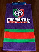 FEMANTLE-DOCKERS-NEW-AFL-HAND-TOWEL-SET-OF-2-AUSTRALIA