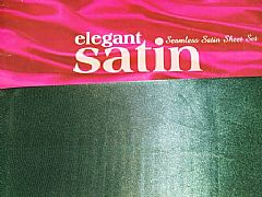 SEEMLESS-ELEGANT-FINEST-SATIN-KING-SHEET-SET-GREEN-INC-2-PILLOWCASES-NEW-SPECIAL