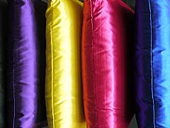 BEAUTIFUL SATIN LOOK STUNNING BRIGHT RANGE PURPLE 40 cm SQUARE