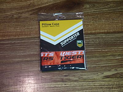 PILLOWCASE--NRL-OFFICIAL-WESTS-TIGER-PILLOWCASE