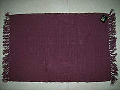 MODERN-STUNNING-ALMO-PURPLE-MARONE-COTTON-FLOOR-RUG-MAT-60-cm-X-90-cm-NEW