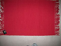 MODERN-STUNNING-ALMO-BRIGHT-RED-COTTON-FLOOR-RUG-MAT-60-cm-X-90-cm-NEW