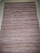 MODERN-STUNNING-WOVEN-LATTE-BROWN-LEATHER-FLOOR-RUG-MAT-60-cm-X-90-cm-NEW